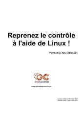 site de zero reprenez le controle avec linux