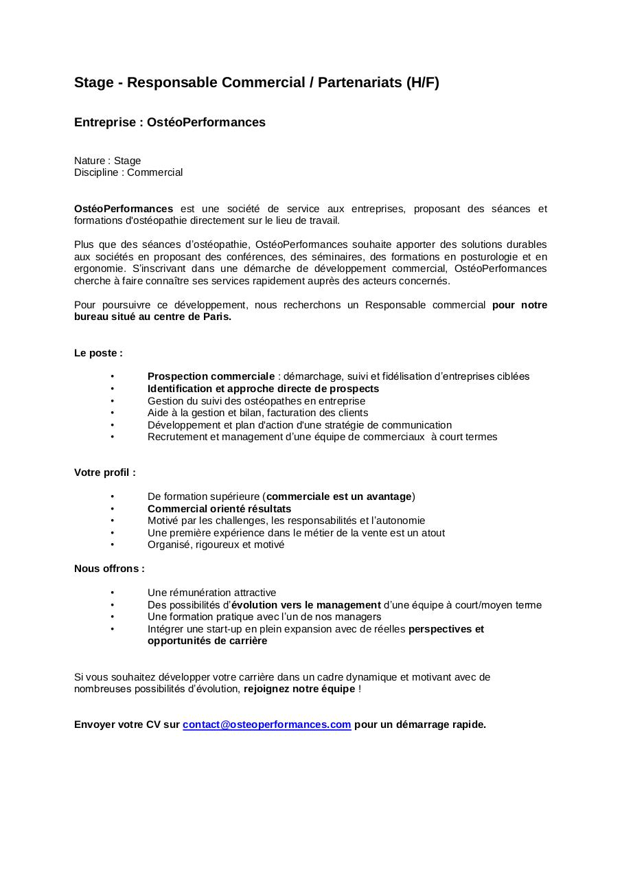 Aperçu du document Stage - Responsable Commercial - OstéoPerformances.pdf - page 1/1