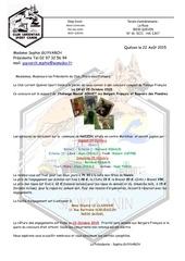 invitation concours pistage 2015