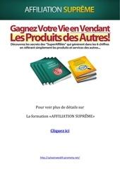 Fichier PDF affiliation supreme