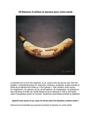 Fichier PDF bienfaits des bananes