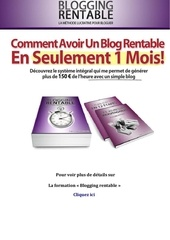 Fichier PDF blogging rentable
