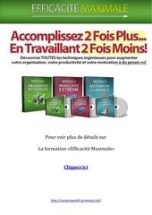Fichier PDF efficacite maximale