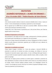 rencontres errance 2015 invitation