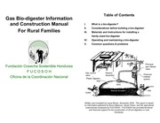 6 biodigester manual