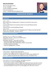 Fichier PDF cv sport 2015