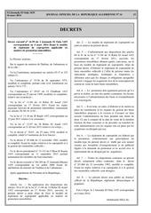 decret executif 14 99