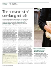hodson et costello 2012 the human cost of