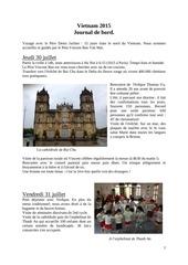 journal de voyage vietnam 2015 avec photos