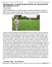 pollution raimbeaucourt