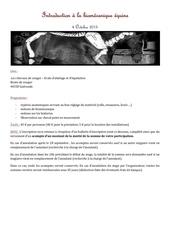 approche de la biomecanique equine