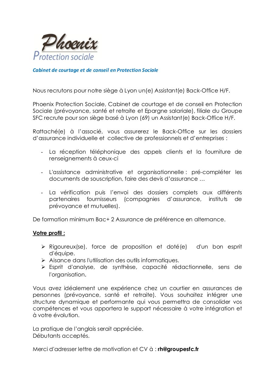 ppt  lettre de motivation assistant administratif debutant