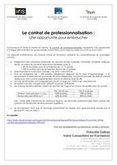 avantages contrat pro
