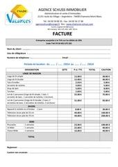 Fichier PDF tarifs linge