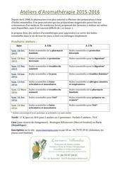 ateliers d aromatherapie2015 2016