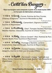 carte des burgers a3 septembre 2015