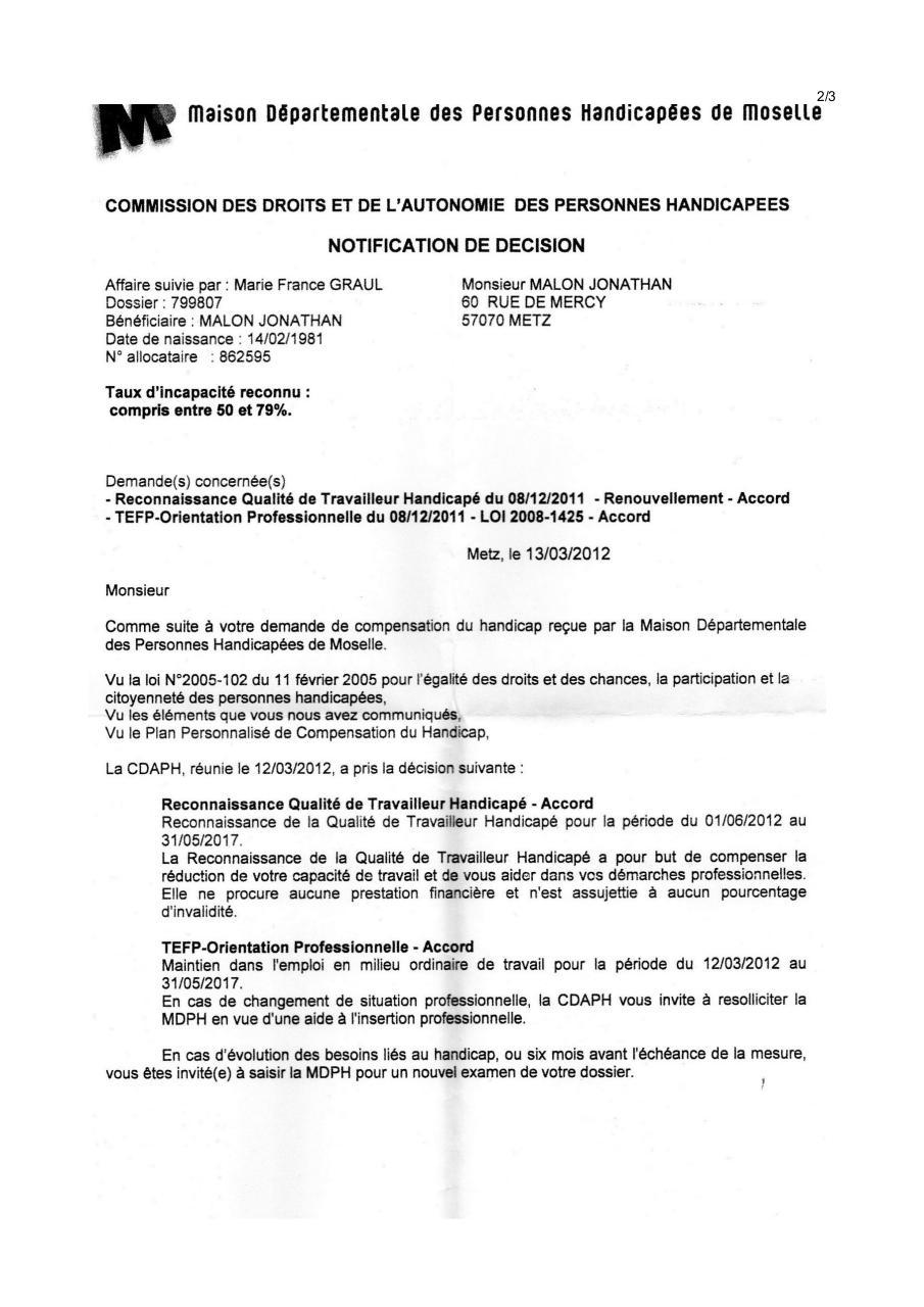 Modele Courrier Cdc Par Administrateur Lettre Motivation