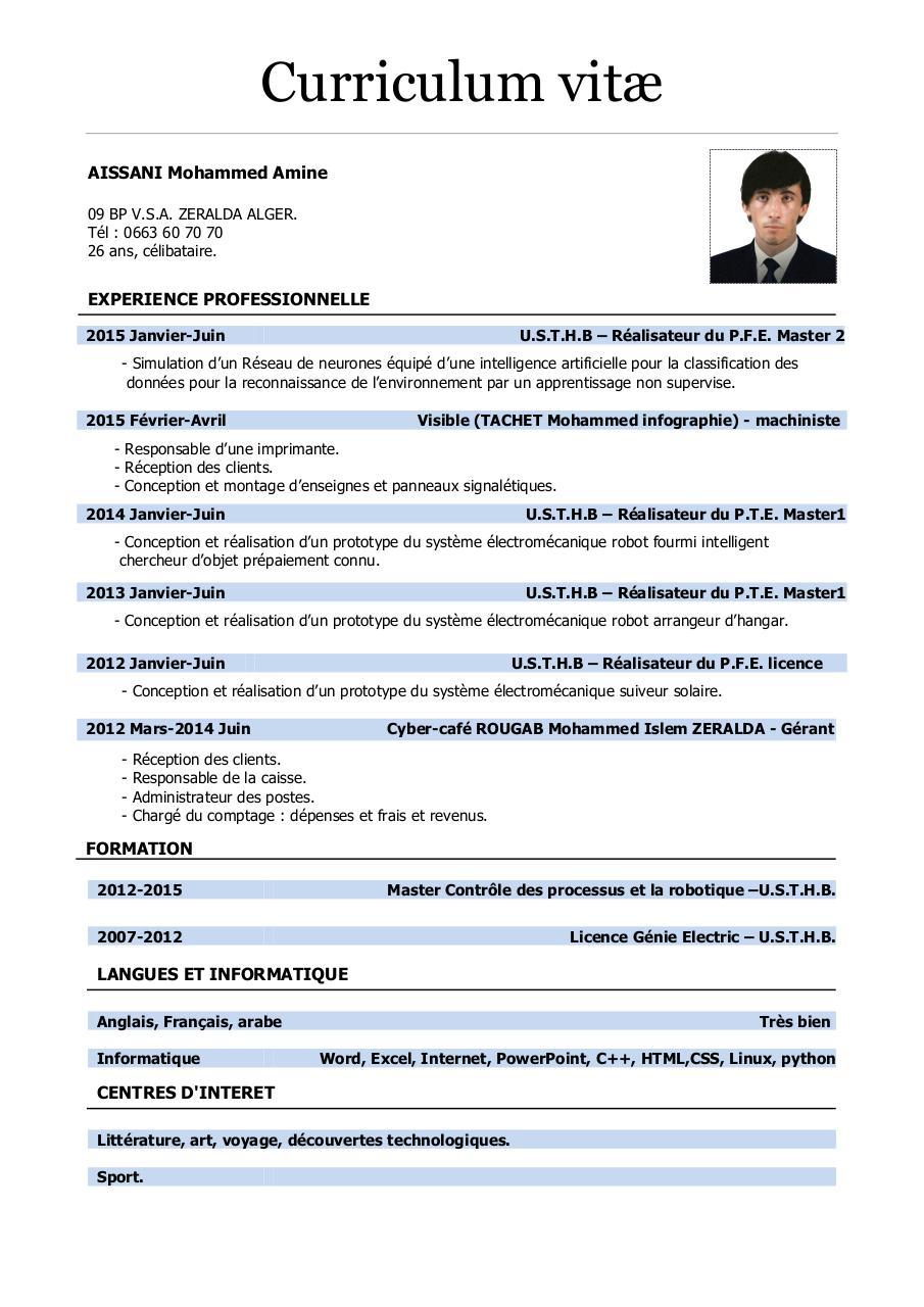 modele cv o2eqstmh1439972422 rtf par amine - cvv pdf