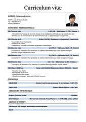 Fichier PDF cvv