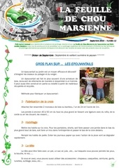 feuille de chou marsienne n 12 septembre 2015