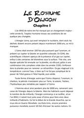 le royaume d oligon chapitre 1
