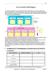 sequence 5 circuits electriques prof