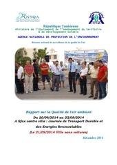 campagne air ambiant sfax decembre 2014vfinale