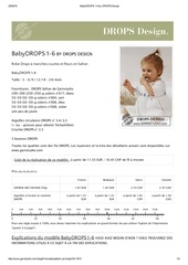 babydrops 1 6 by drops design