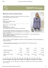blossom lane drops 165 48 by drops design