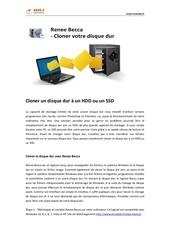 Fichier PDF cloner un disque dur