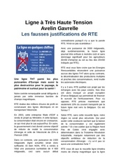 les fausses justifications rte 4