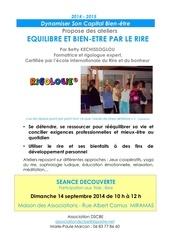 rigologie affiche seance presentation 2014 2015 revue doc