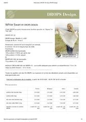 white swan drops 157 22 by drops design