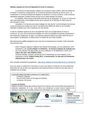 communique de presse webikeo 48h e commerce sept