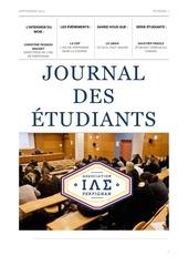 journal des etudiants iae sept 2015