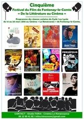 programme scolaire festival du film de fontenay 2016