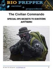 Fichier PDF civilian commando