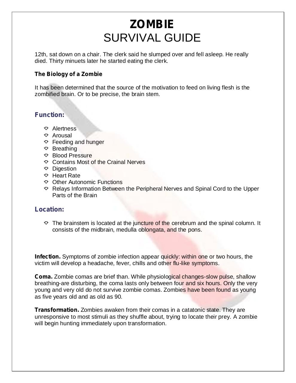 How to Survive Zombies.pdf - page 2/50