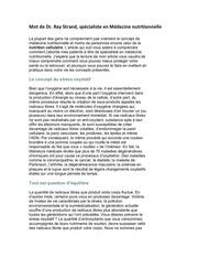 Fichier PDF medecine nutritionnelle dr ray strand
