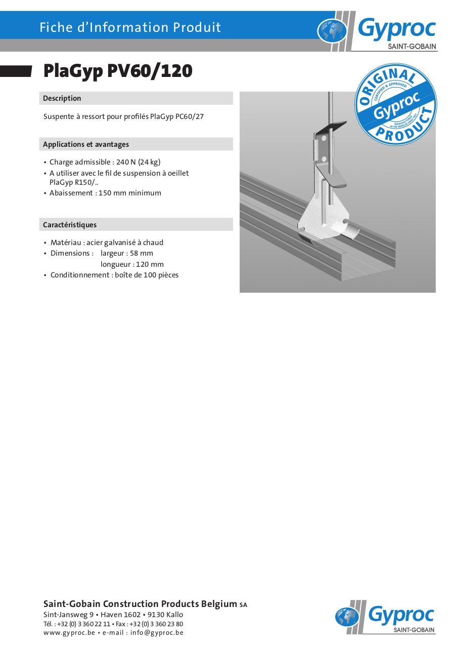 faux plafond fip pv60 120 fr faux plafond fip pv60 120 fr. Black Bedroom Furniture Sets. Home Design Ideas