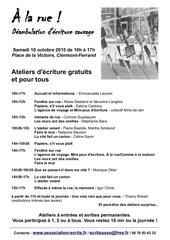 programme a la rue edition 2