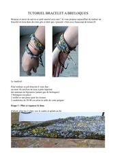 tuto bracelet breloque