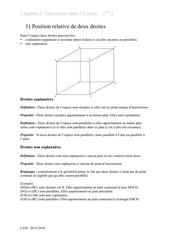ch2 geometrie espace cours