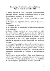Fichier PDF communique du bureau politique 15092015