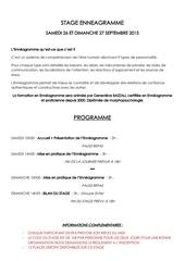 Fichier PDF stage enneagramme