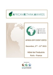 presentation of the african rethink awards lab 2015