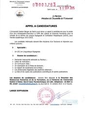 Fichier PDF recrutement enseignant chercheur a la section espagnole