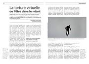 torture virtuelle l etre dans le neant