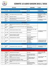 calendrier c13 judo 2015 2016