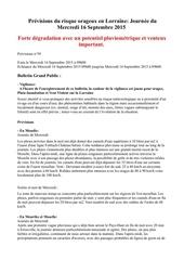 Fichier PDF risque orageux du 16 septembre 2015